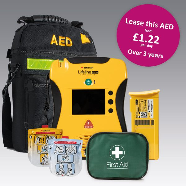Automated External Defibrillator Bundle Package