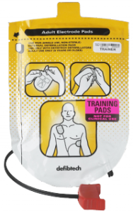 Defibrillator Training Pads
