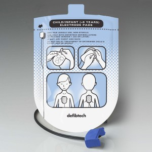 Paediatric Defibrillator Pads