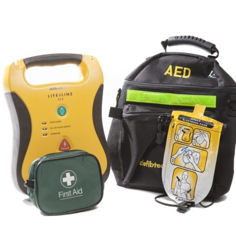 Construction Defibrillator Package