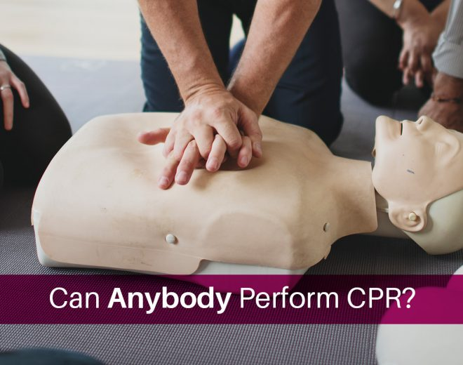 Can Anybody Perform CPR?