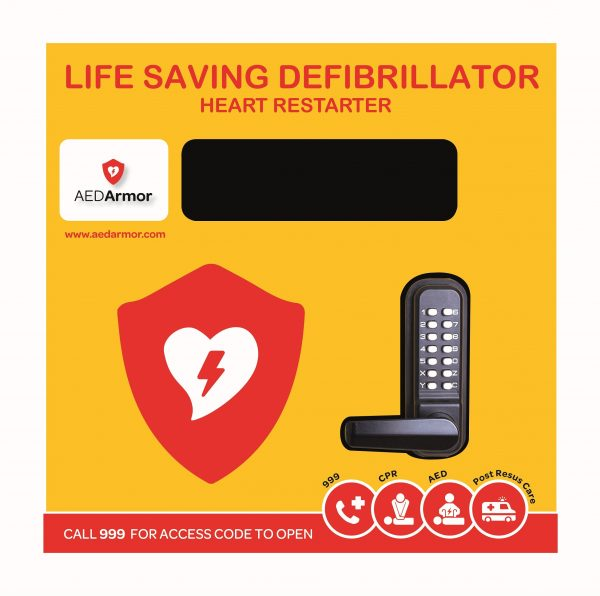 Heated AED storage