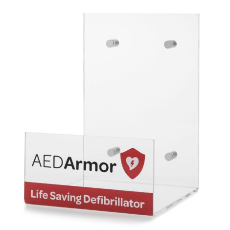 AED Armor Large Perspex Wall Bracket