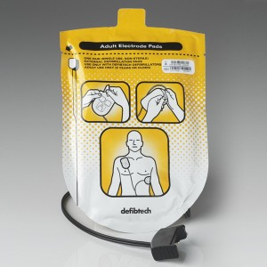 Adult Defibrillation Pads X 2 - View/ECG/Pro