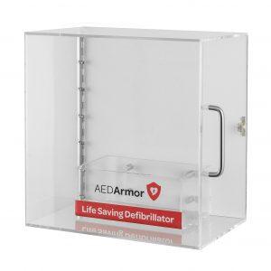 Perspex Defibrillator Cabinet