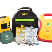 Sports Club AED Package - Defibrillator bundle for sudden cardiac arrest