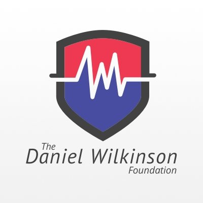 a logo of Daniel Wilkinson Foundation with a white background