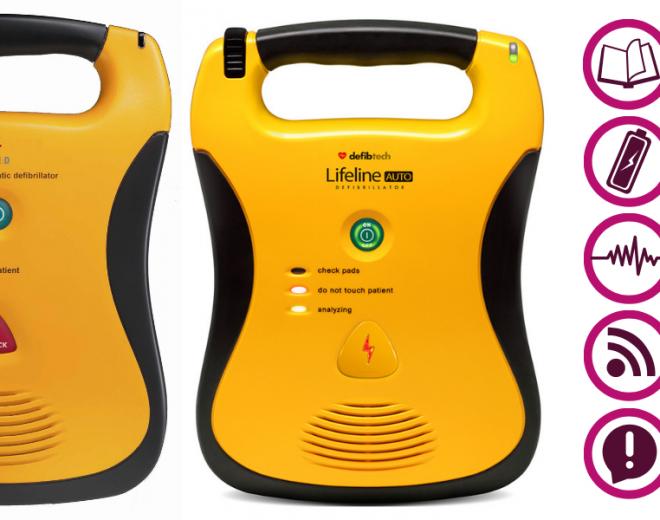 Latest updates to Lifeline AEDs