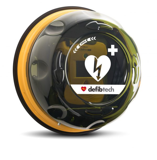 Rotaid Defibtech Cabinet