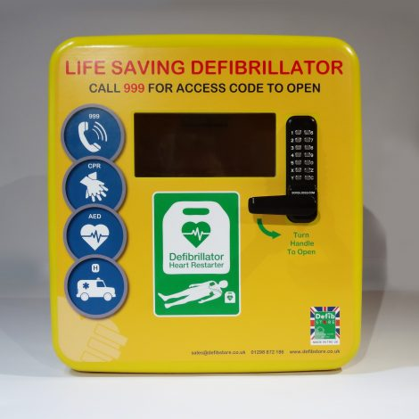 Defib Store 4000 Polycarbonate Cabinet - Locked