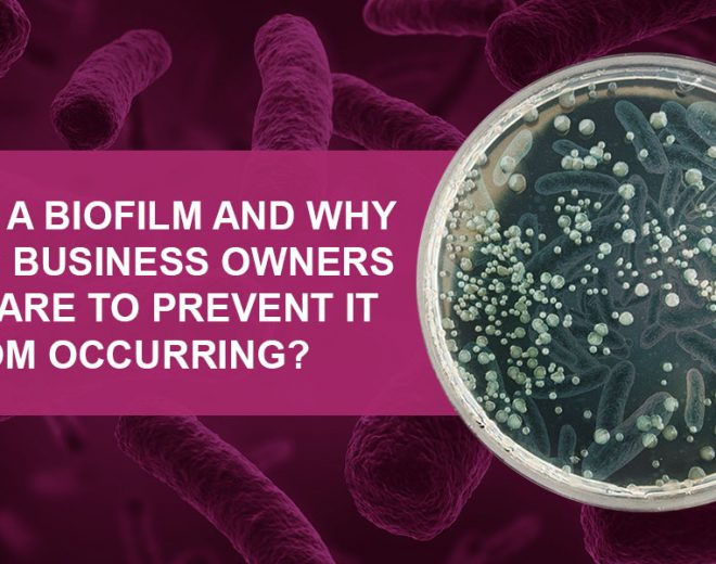 What Is A Biofilm And Why Should Business Owners Take Care To Prevent It From Occurring?