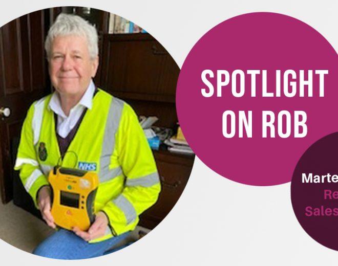 Meet The Team - Rob Higgie